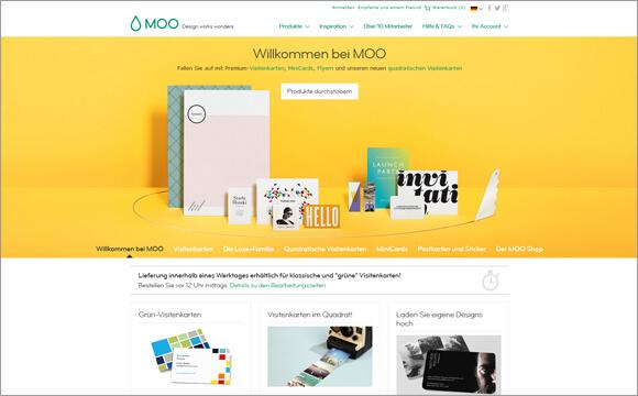 Online Druckereien Die Visitenkarte Und Mehr Drucken Page