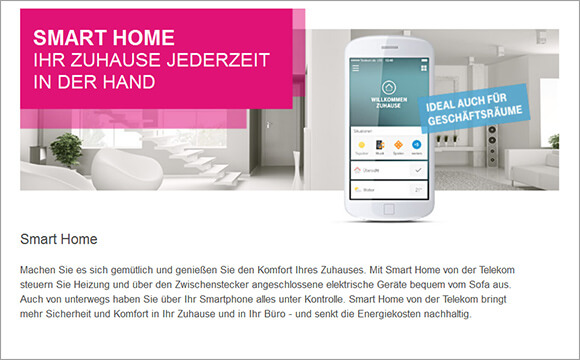 smart home kommt im alltag an 24 anbieter deutsche. Black Bedroom Furniture Sets. Home Design Ideas