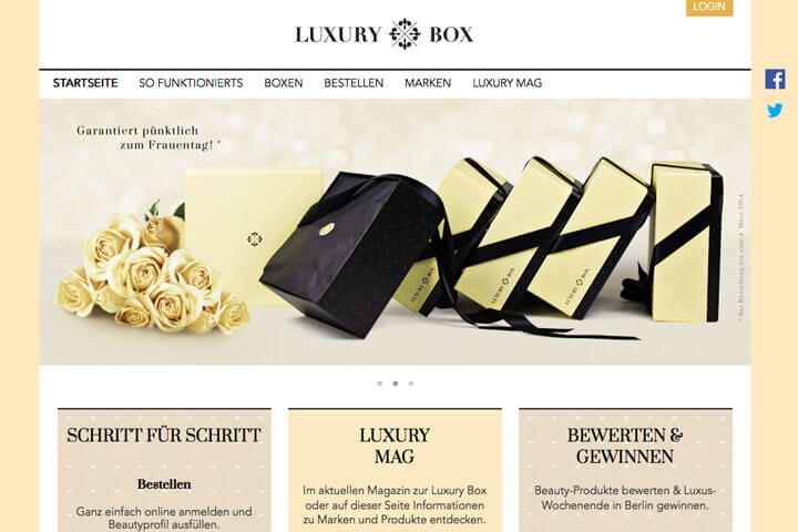 LuxuryBox, Mycargorates, Perla Natura, TimeZapp, Belleflower