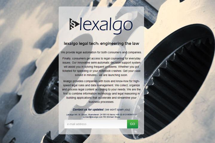 Lexalgo hilft bei Rechtsfragen – etwa bei Bußgeldbescheiden