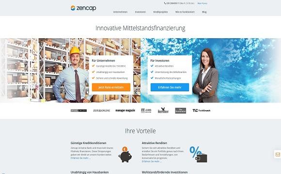 zencap_landing_page