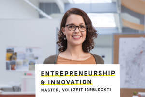 Masterstudium Entrepreneurship & Innovation (MSc) (Anzeige)