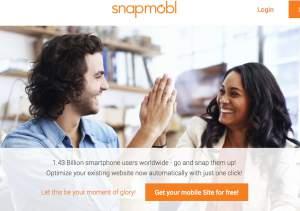 Mit snapmobl in zwei Minuten mobile Webseiten erstellen