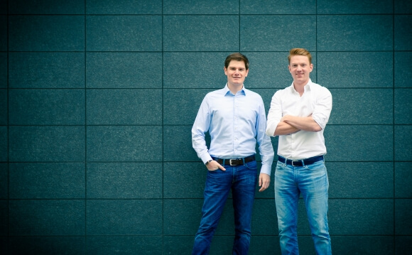 Die beiden Gründer Philipp und Daniel