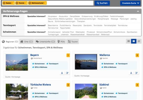Suchergebnisse SmartSearch