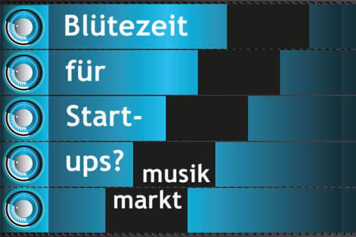 Erfolgsversprechende Start-ups mit Musik