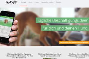 MyDog365 bietet jeden Tag neue Ideen für Hund und Mensch