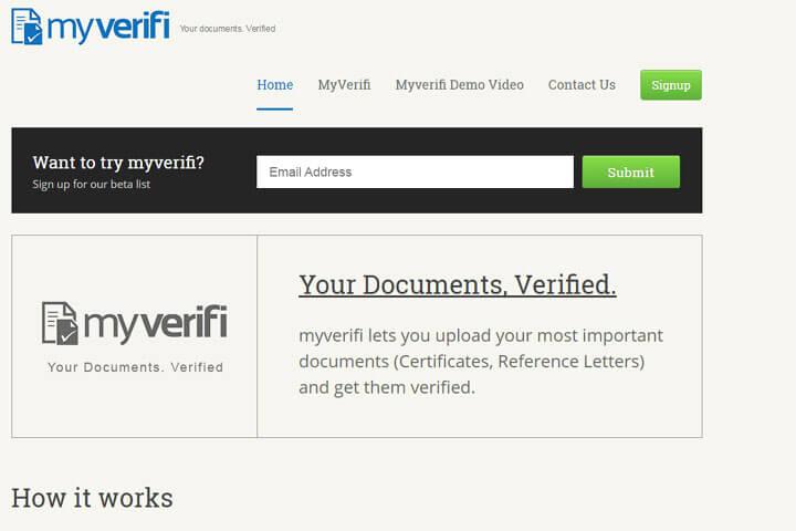 Mit Myverifi Dokumente ganz einfach beglaubigen lassen