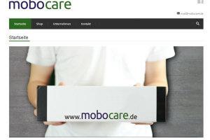 mobocare strebt auf den Hygienemarkt