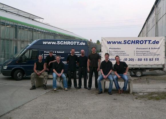 Marcus Seidel und Schrott.deTeam_2007