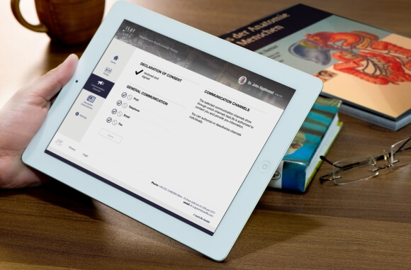 ysura auf iPad