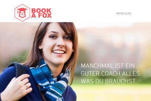 """BookaFox verspricht """"qualifizierte Nachhilfe für alle Fächer"""""""