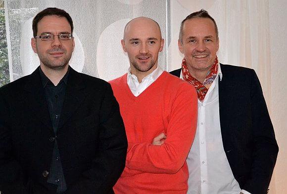 Die drei Gründer