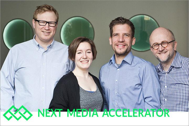 Der Next Media Accelerator startet in die erste Runde