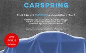 Rocket Internet holt Carspring nach Deutschland