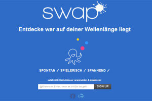 Mit Swap coole Leute aus der Umgebung kennen lernen