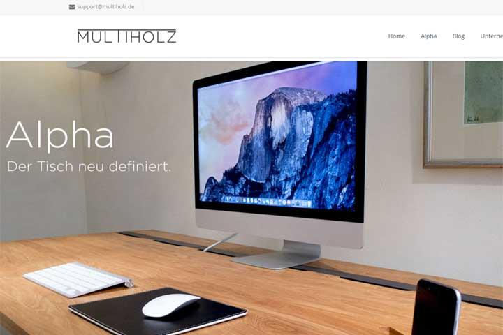 multiholz baut den Schreibtisch 2.0