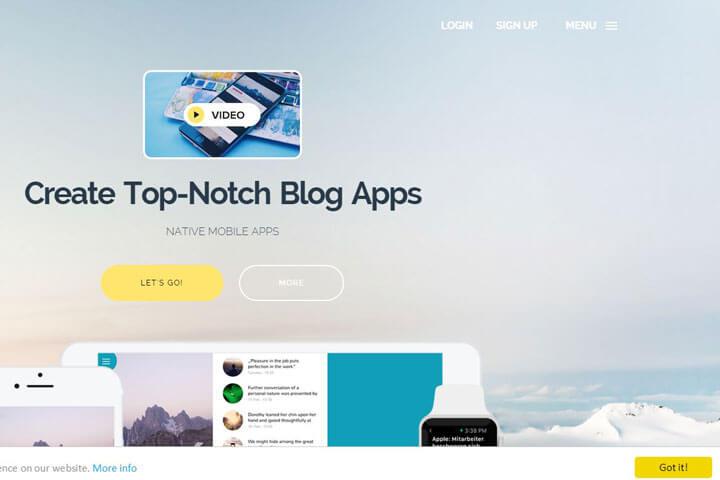 Appful erstellt Apps für Blogs und YouTube