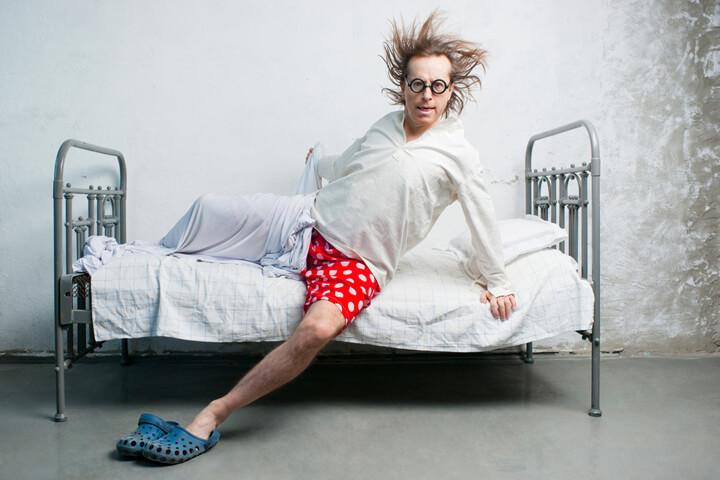 nach dem aufstehen checke ich meine e mails deutsche. Black Bedroom Furniture Sets. Home Design Ideas