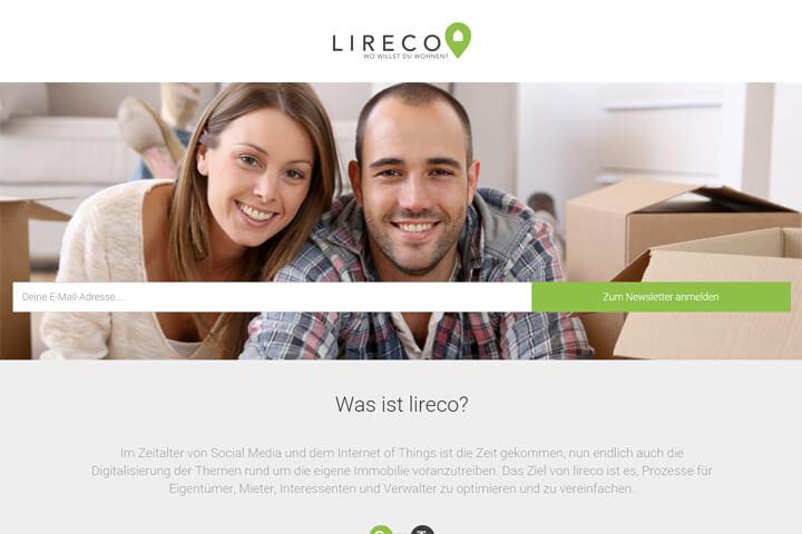 Lireco greift Mietern und Vermietern unter die Arme