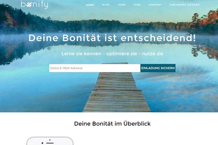 bonify: Noch nicht gestartet, aber schon Index an Bord