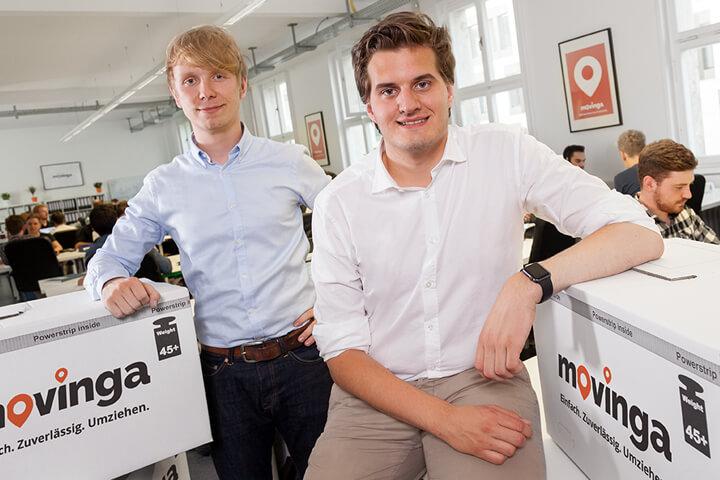 Glückwunsch! Movinga ist das Start-up des Jahres