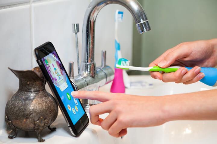 Playbrush – und die Zahnbürste wird zum Game Controller
