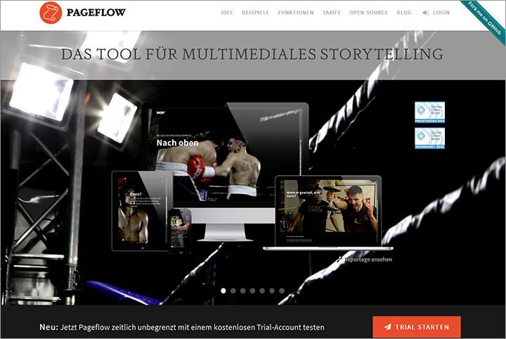 Mit Pageflow multimediale Geschichten erzählen