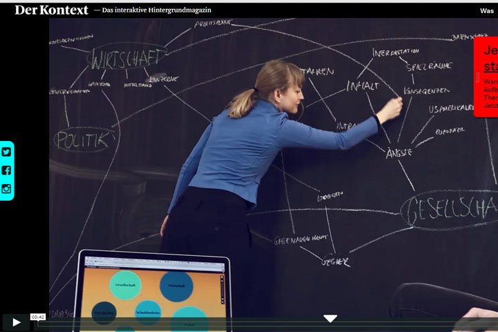 Der Kontext – ein interaktives Hintergrundmagazin