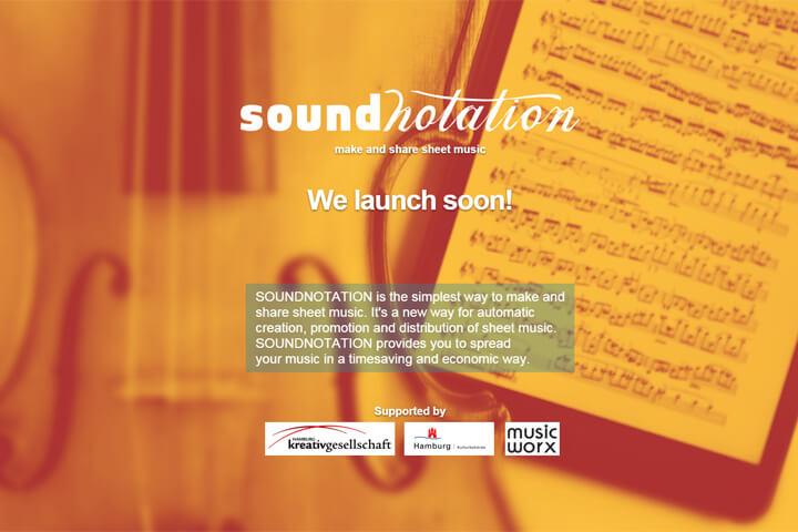 Soundnotation – ein Vermarkter für digitale Noten