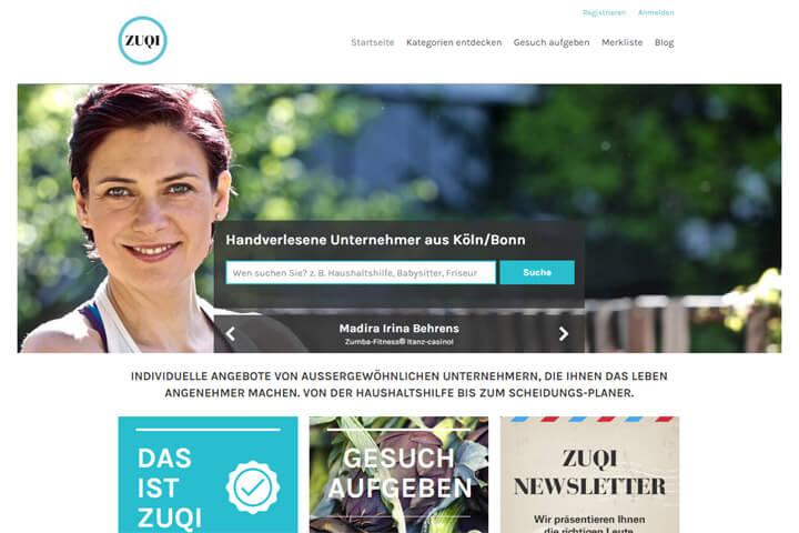 Zuqi – ein richtig persönliches, lokales Branchenbuch