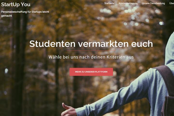 StartUp You bringt Studenten und Start-ups zusammen
