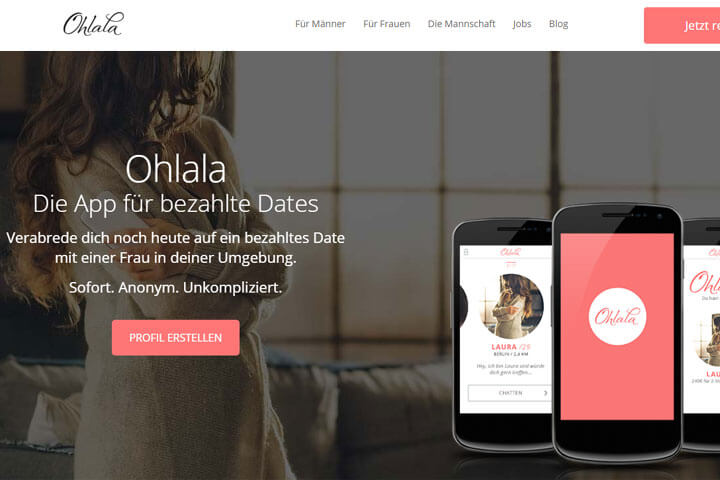 Paid-Dating-App Ohlala sammelt 1,7 Millionen ein