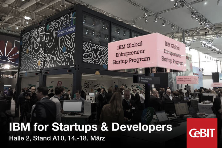 IBM for Startups & Entrepeneurs@CeBIT2016