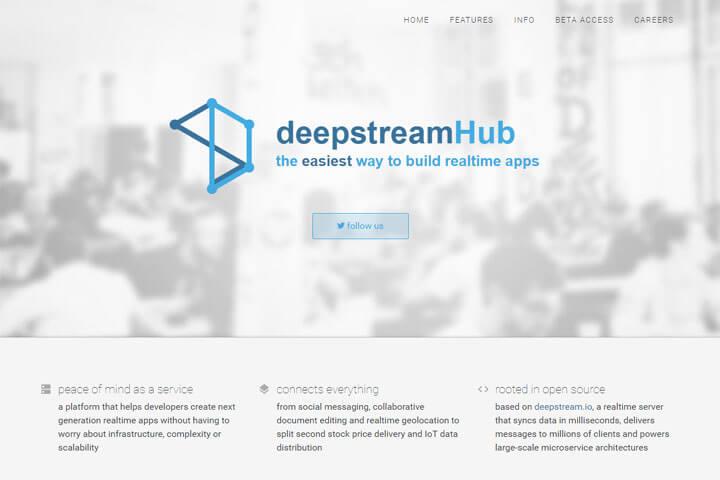 deepstreamHub – ein neues Backend für Entwickler