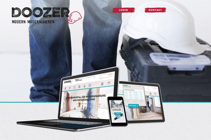 Doozer hilft Hausbesitzern bei der Modernisierung