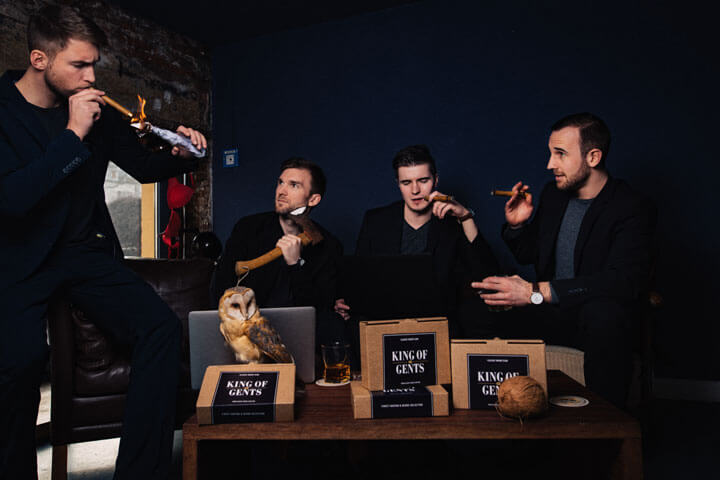 King of Gents – Ein Start-up geht Hipstern an die Bärte