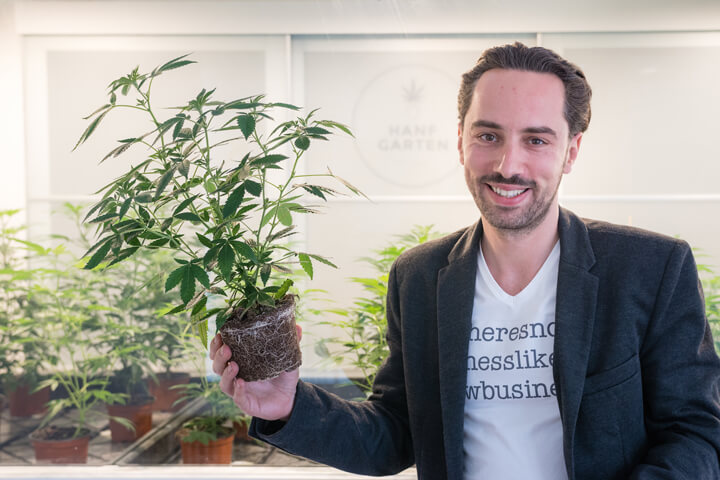 Die Crowd liebt das Cannabis-Start-up Hanfgarten