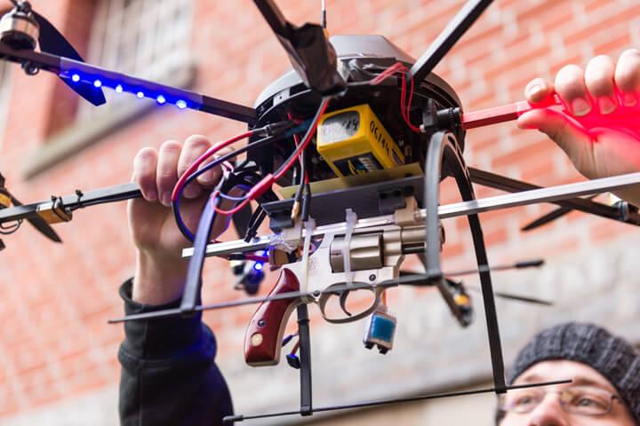 Menlo investiert in deutsches Drohnen-Warnsystem