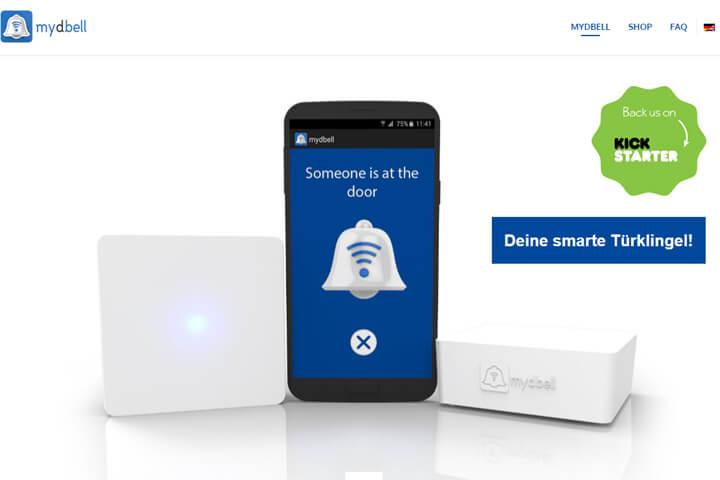 mydbell – Jetzt klingelt der Besuch auf dem Smartphone