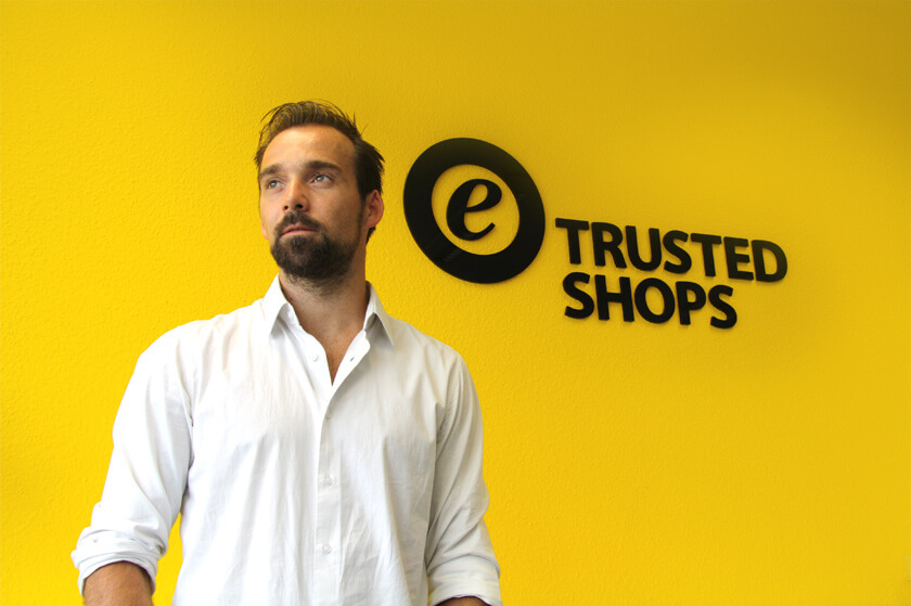 Inside Trusted Shops – Hendrik Lennarz – Executive Director Product & Technology - vor Logo