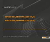SEA / SEM Manager (m/w)