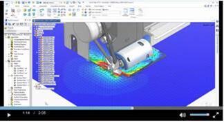 Solid Edge Flow Simulation ist ein integriertes CFD-Simulationswerkzeug für die problemlose, schnelle und akkurate Strömungs- und Wärmeübertragungsanalyse