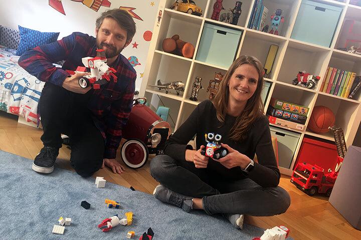 Blick hinter die Kulissen: So entstand der Tinkerbots-Spot