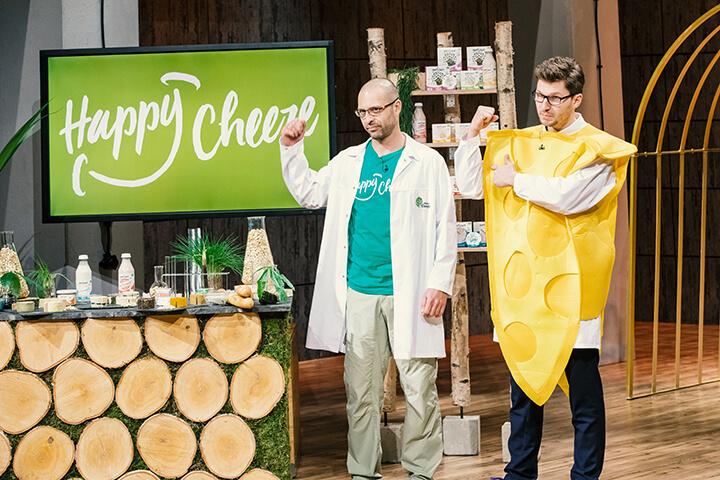 Auch der Happy Cheeze-Deal platzte nach der Show