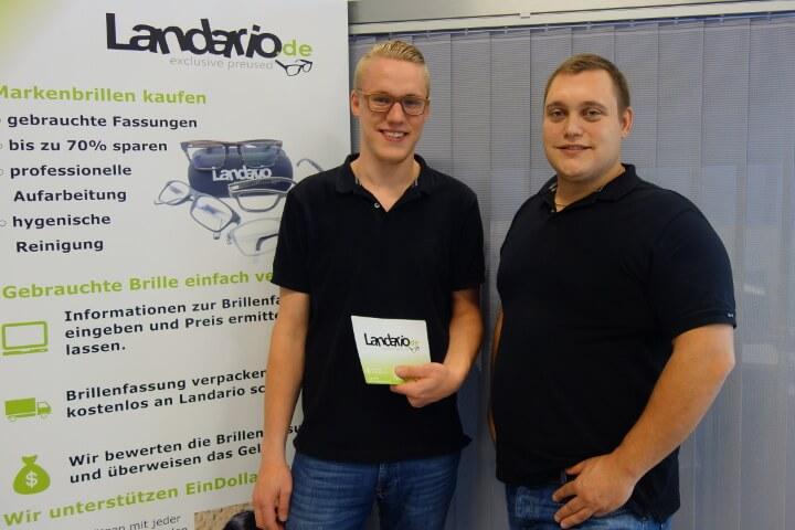 Landario – hier werden gebrauchte Brillen gehandelt